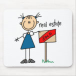 Real Estate Agent Mouse Pads