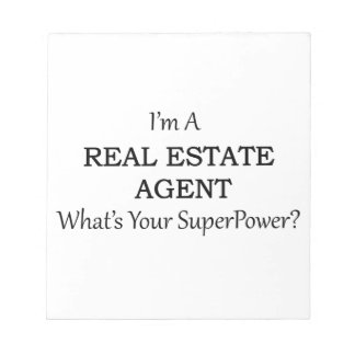 REAL ESTATE AGENT NOTEPAD