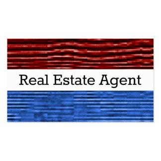 Real Estate Agent Patriotic Business Card