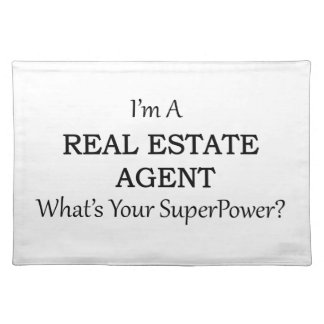 REAL ESTATE AGENT PLACEMAT