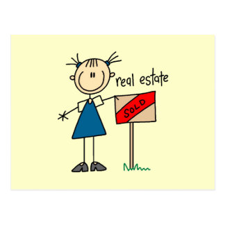 Real Estate Agent Post Card