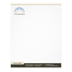 real estate letterhead zazzle