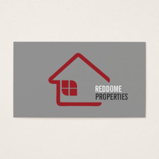 Real Estate Agent Real Estate Business Card