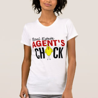 REAL ESTATE AGENT'S CHICK TEE SHIRT