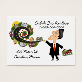 Real Estate Agent Salesman Business Card