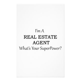 REAL ESTATE AGENT STATIONERY