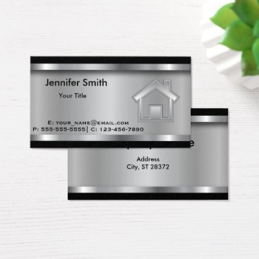 designsbydonnasiggy Real Estate Agent | Template | Professional Business Card
