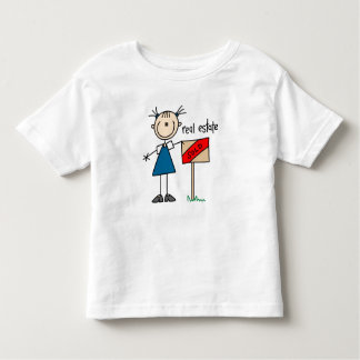 Real Estate Agent Toddler T-shirt
