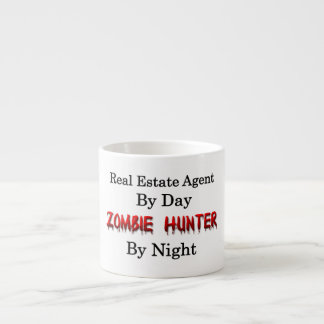 Real Estate Agent/Zombie Hunter Espresso Cup