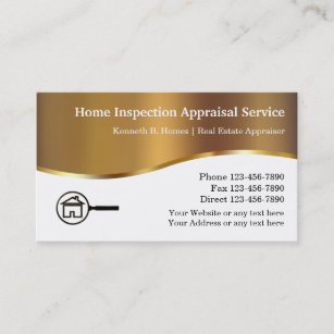 Inspector business cards zazzle real estate appraisal inspection business cards colourmoves