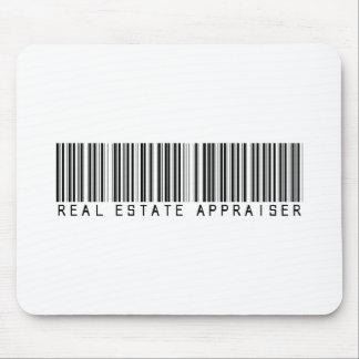 Real Estate Appraiser Bar Code Mouse Pad
