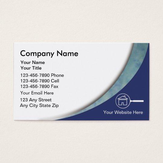 Real Estate Appraiser Business Card