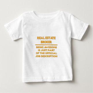 Real Estate Broker .. Job Description Baby T-Shirt