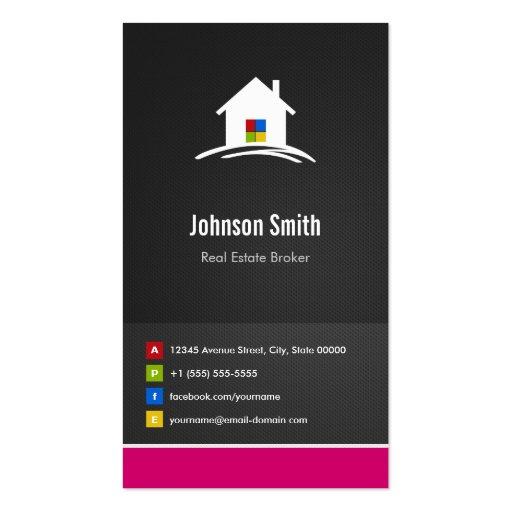 Real Estate Broker - Premium Creative Innovative Business Card Template