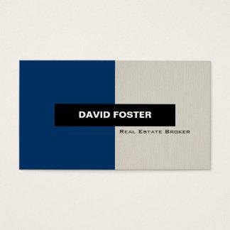 Real Estate Broker - Simple Elegant Stylish Business Card