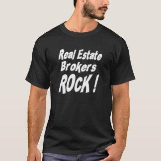 Real Estate Brokers Rock! T-shirt