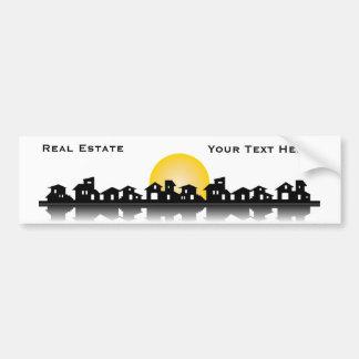 Real Estate Bumper Sticker Car Bumper Sticker