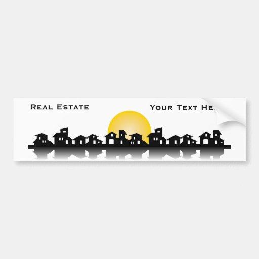 Real Estate Bumper Sticker