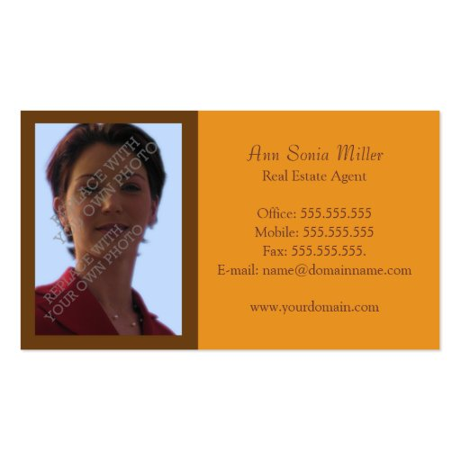 Real estate business card templates page45 bizcardstudio for Realtor business card ideas