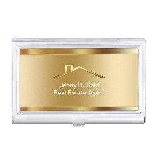 Real Estate Business Card Holder