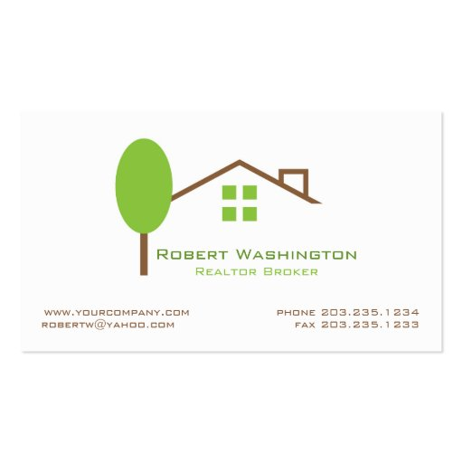Real Estate Business Card Templates