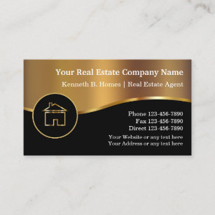 real estate business cards - Real Estate Business Card