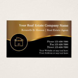 Real estate business cards zazzle real estate business cards colourmoves