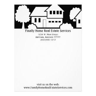 Real Estate Business Letterhead