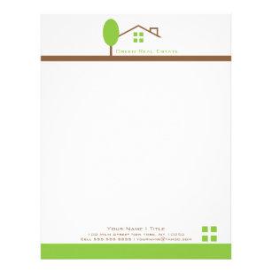 Real estate letterhead zazzle real estate business letterhead spiritdancerdesigns Images
