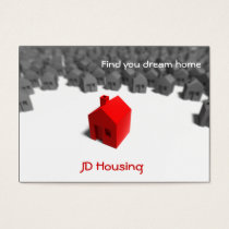 Real estate  businesscards business card