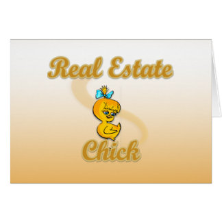 Real Estate Chick Card