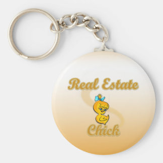 Real Estate Chick Keychain