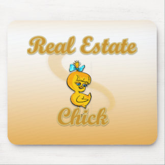 Real Estate Chick Mouse Pad