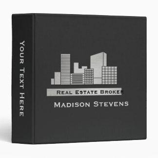 """Real Estate City Logo Binder 1.5"""""""