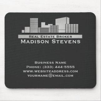 Real Estate City Logo Mouse Pad
