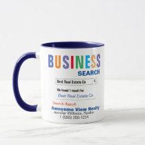 Real Estate Company Realtor Gift Mug