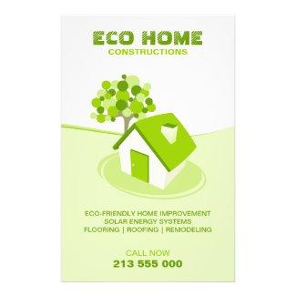 Real Estate / Construction Green Home flyer flyer