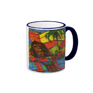 real estate crash ringer coffee mug