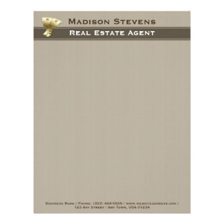 Real Estate Gold Keys Letterhead