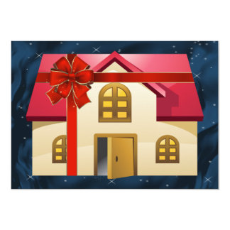 """real estate  Holiday Cards 5"""" X 7"""" Invitation Card"""
