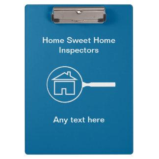 Real Estate Home Inspector Custom Clipboard