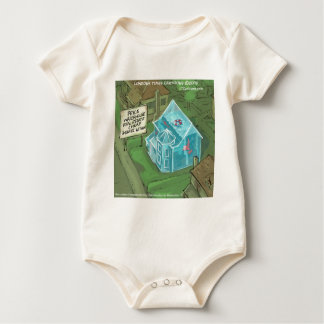 Real Estate Home Sales Nightmare Funny Baby Bodysuit