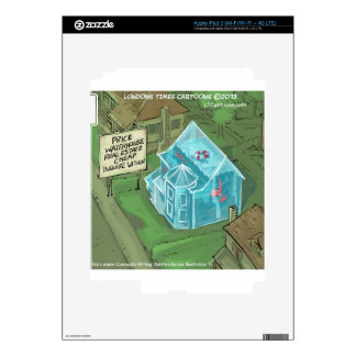 Real Estate Home Sales Nightmare Funny Decal For iPad 3