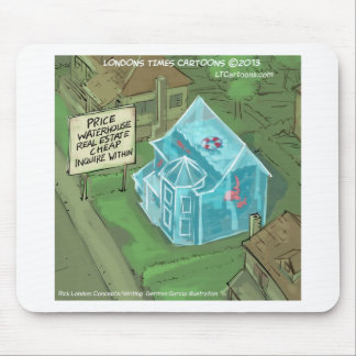 Real Estate Home Sales Nightmare Funny Mouse Pad
