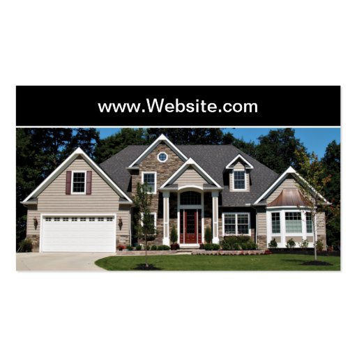 Real Estate House Buying Business Card