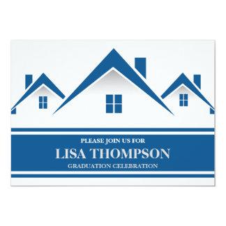 Real estate invitations announcements zazzle real estate house graduation invitation card stopboris Gallery