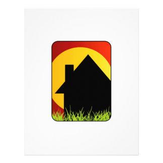 Real estate house letterhead