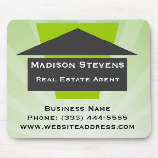 Real Estate House Logo Mouse Pad