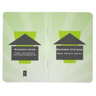 Real Estate House Logo Pocket Journal