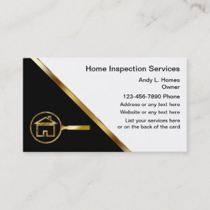 Home inspection business cards templates zazzle real estate inspector business cards colourmoves
